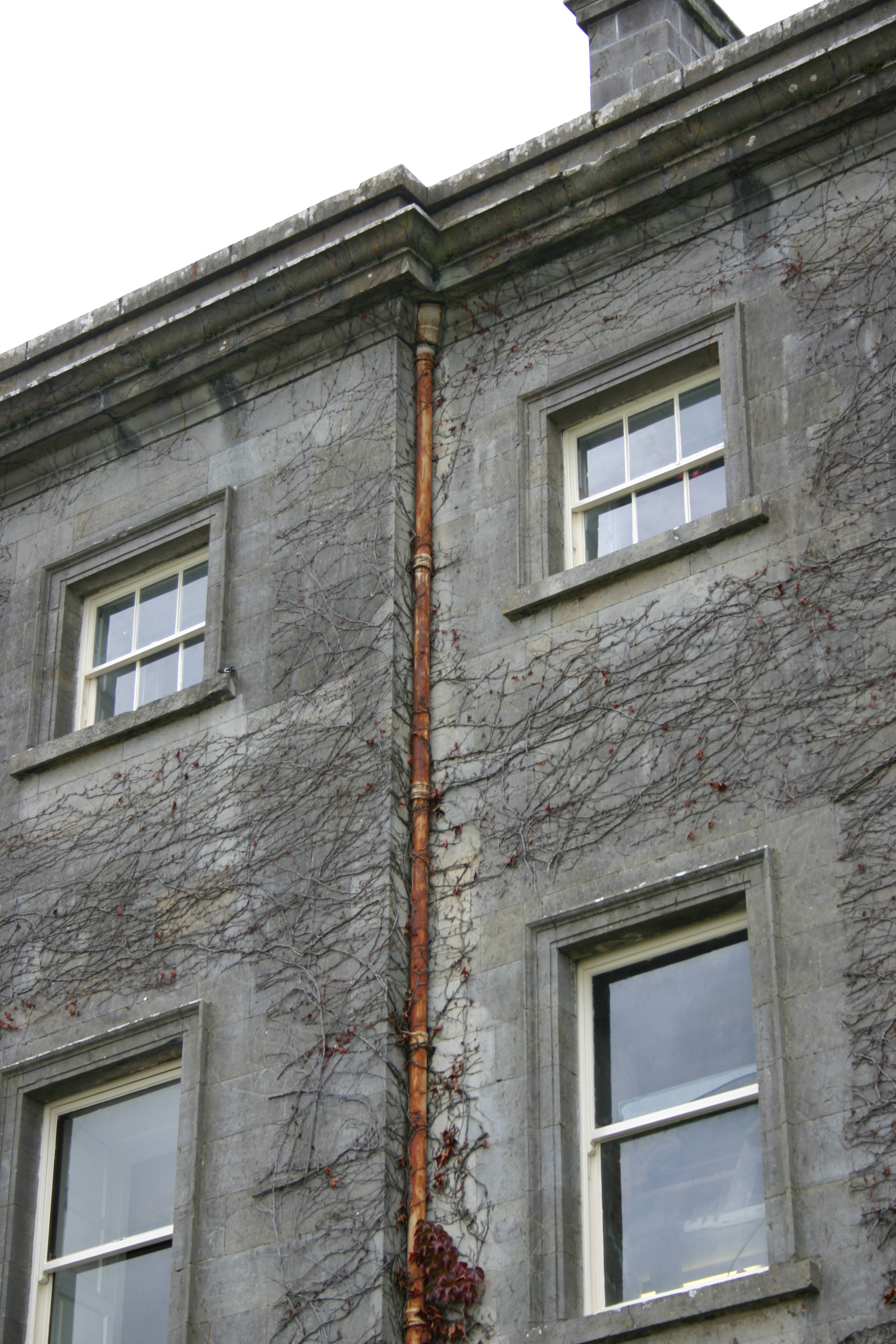 Water ingress and damp had caused structural damage to the building