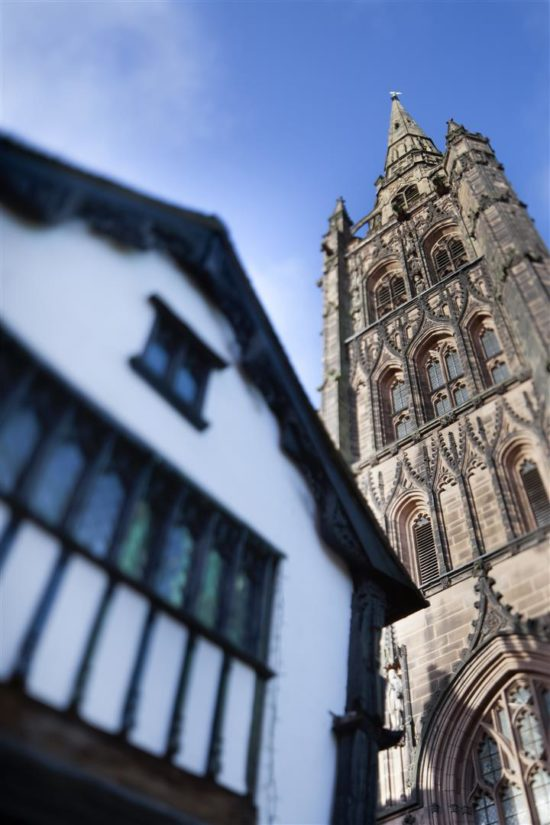 St Michael's retains the tallest spire of any medieval parish church