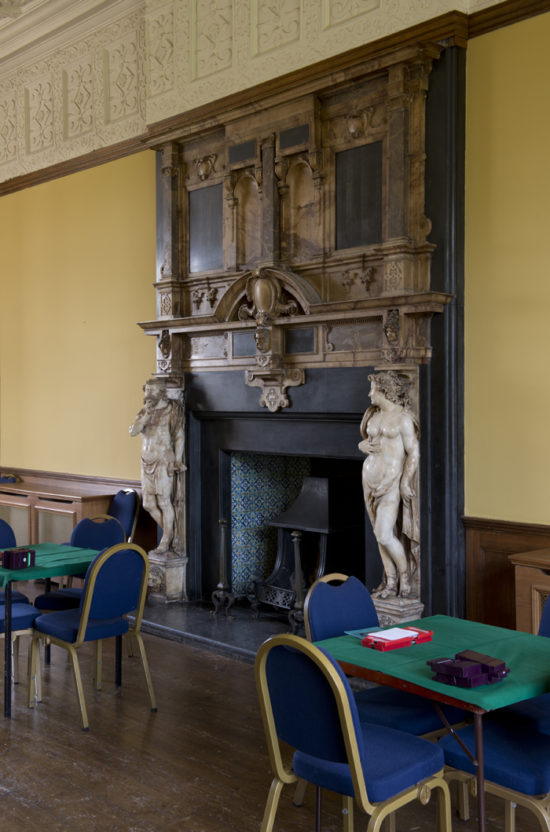 The Grand Salon is regularly used for community activities