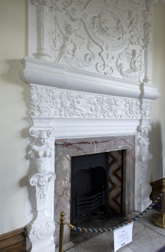 The South East Bedroom Fireplace