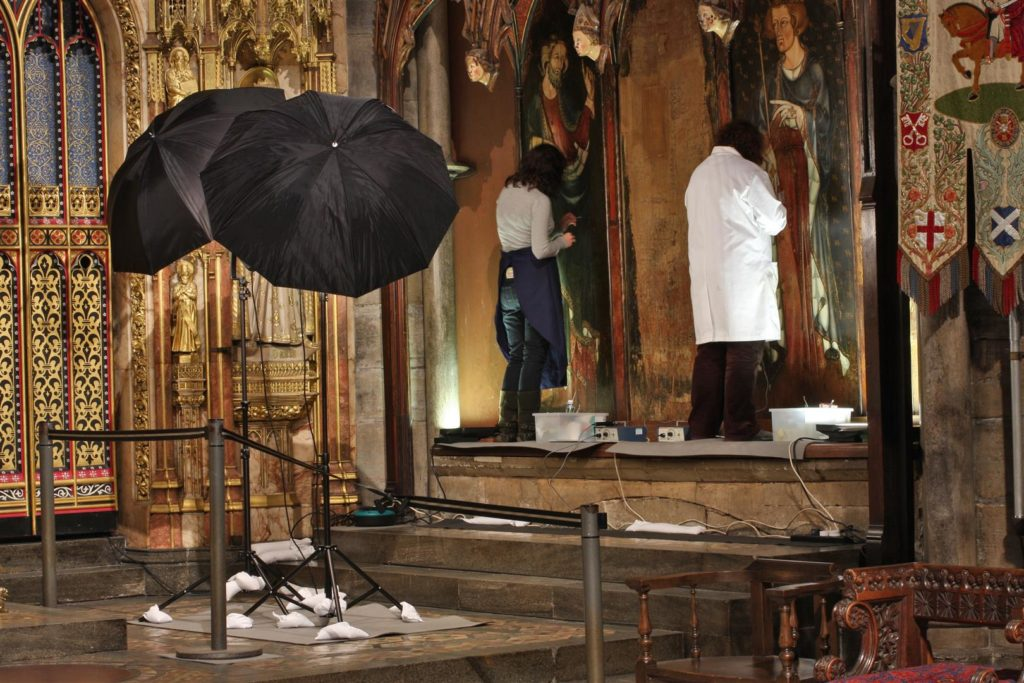 Conservation at Westminster Abbey