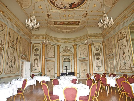Before the conservation started, the Music Room was frequently used for functions and was in regular use