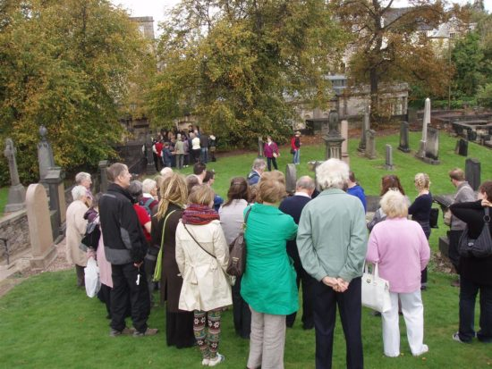 Open days encourage understanding of the issues facing the graveyards