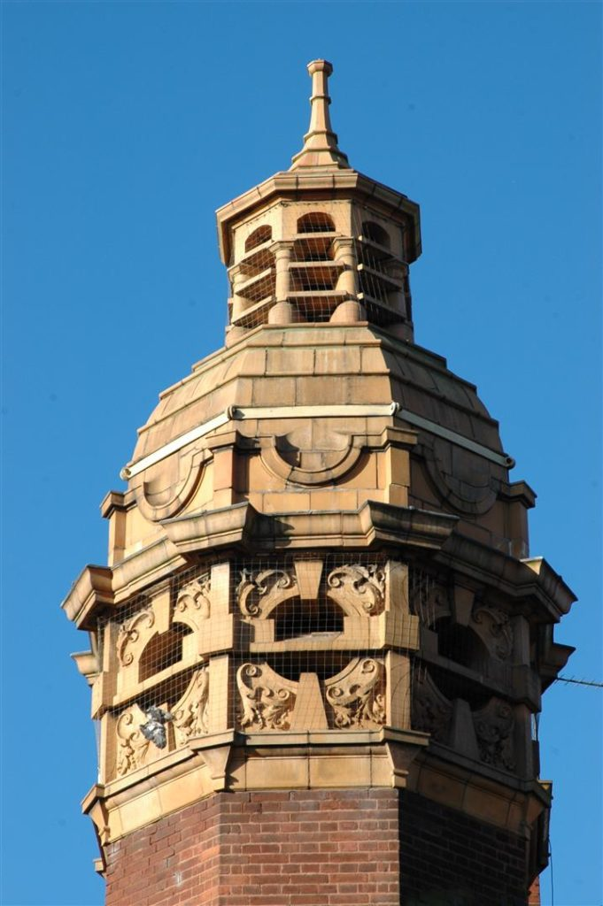 3. Detail of Roof Turret (Large)