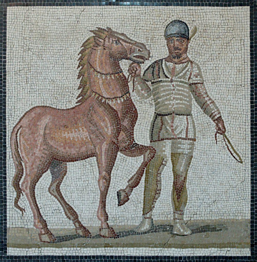 Charioteer mosiac