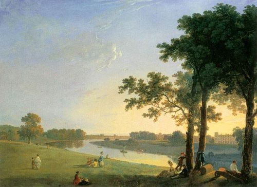 Syon Park in the 1760s from Kew