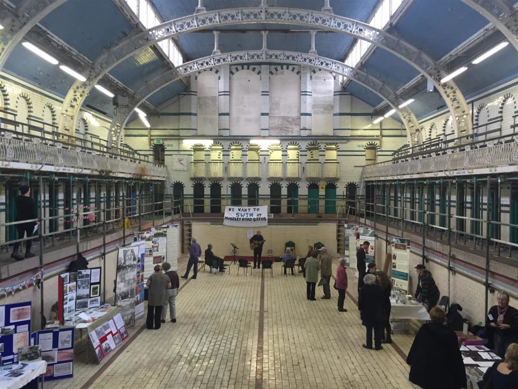 WMF Watch Day at Moseley Road Baths, October 2016