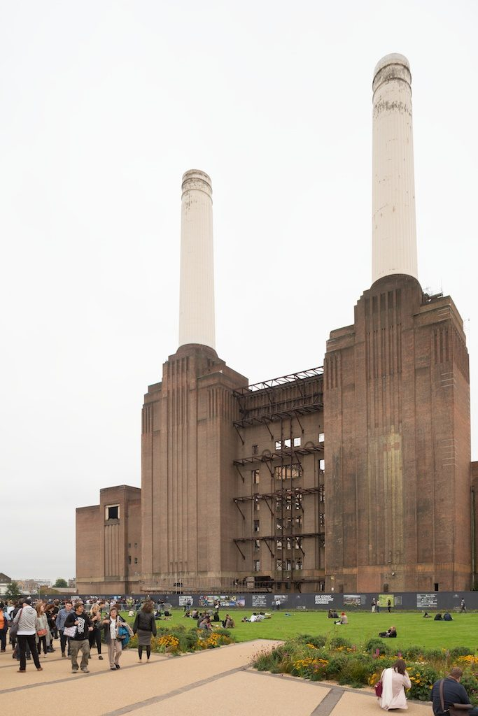 A public event at Battersea Power Station