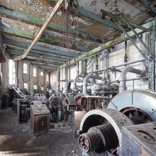 The interiors have suffered from many years of neglect