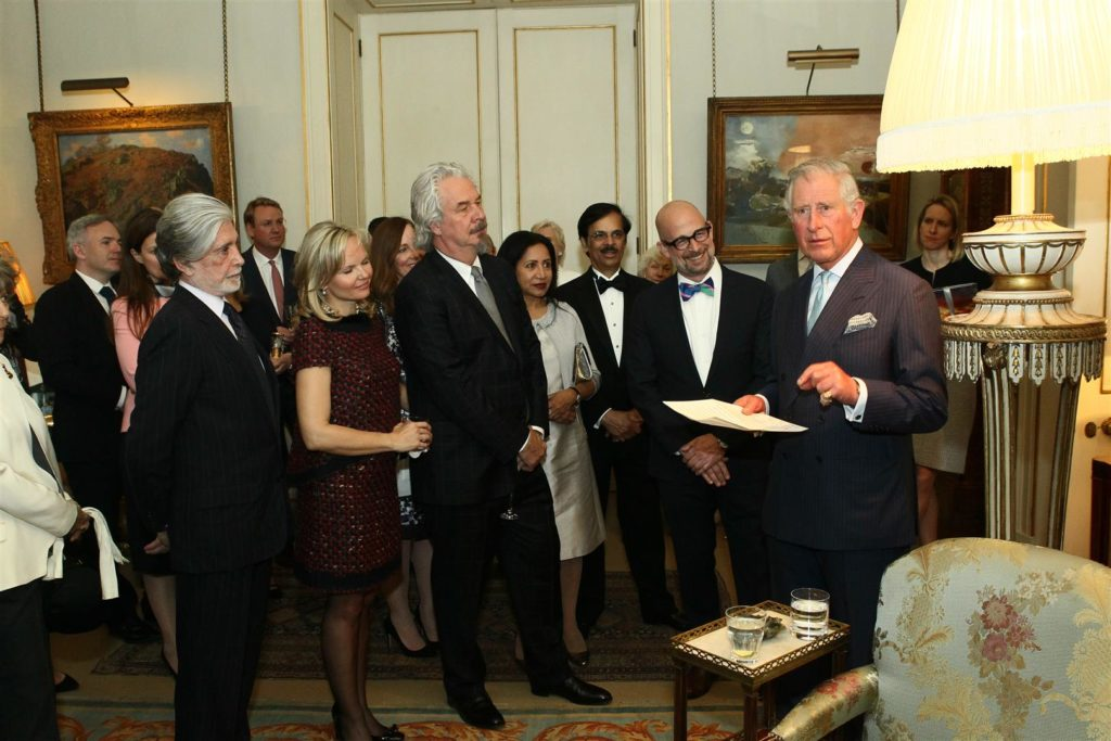 HRH Prince Charles, Patron of the 50th Anniversary campaign welcomed WMF supporters to his home Clarence House in May 2016.