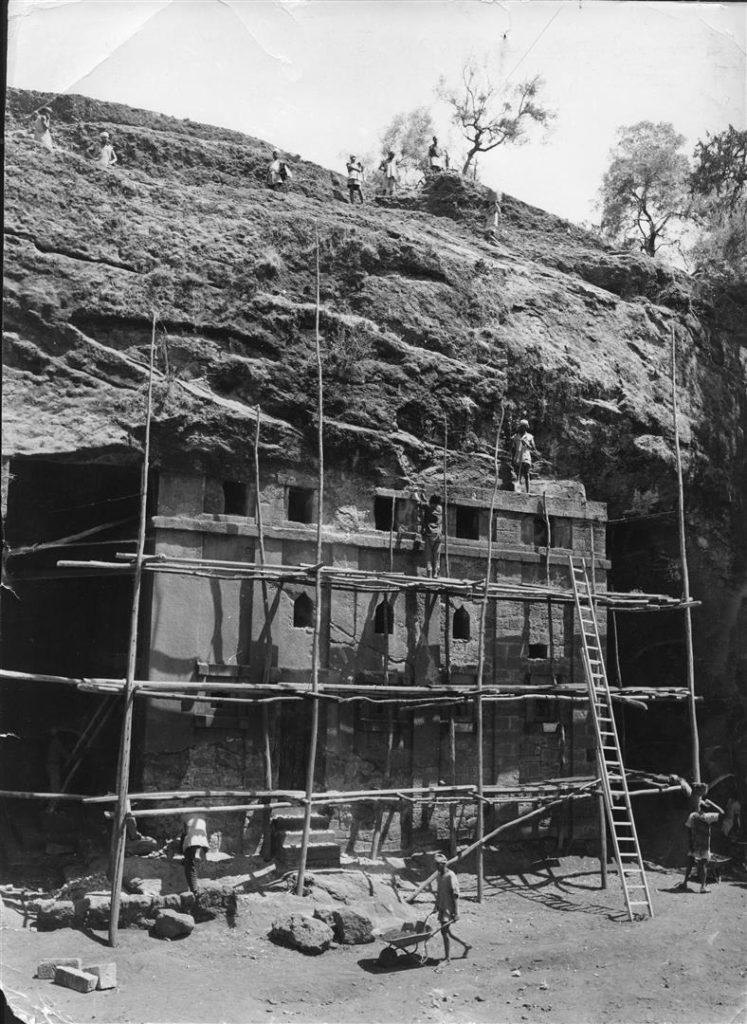 Conserving the rock-hewn Coptic Churches of Lalibela was WMF's first ever project in the 1960s