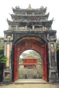 Country: Vietnam Site: Ta Tung Tu, Minh Mang Mausoleum Caption: Minh Lau Pavilion viewed from the main shrine Image Date: October 03, 2003 Photographer: Hue Monuments Conservation Center/World Monuments Fund Provenance: Site Visit Original: email from Brittany Brown