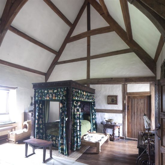 The Tudor Bedroom with canopied bed