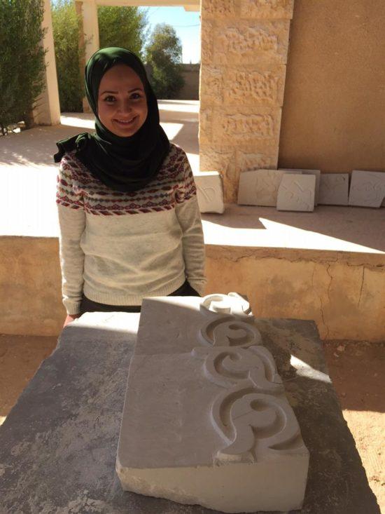Bara'a Al Falah, the Local Project Manager
