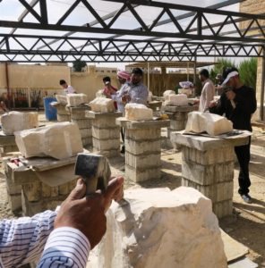 Stone Masonry Training in Mafraq