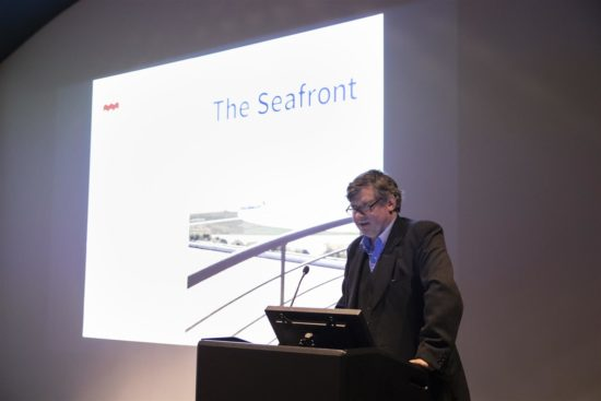 Allan Brodie speaks about his new book 'The Seafront'