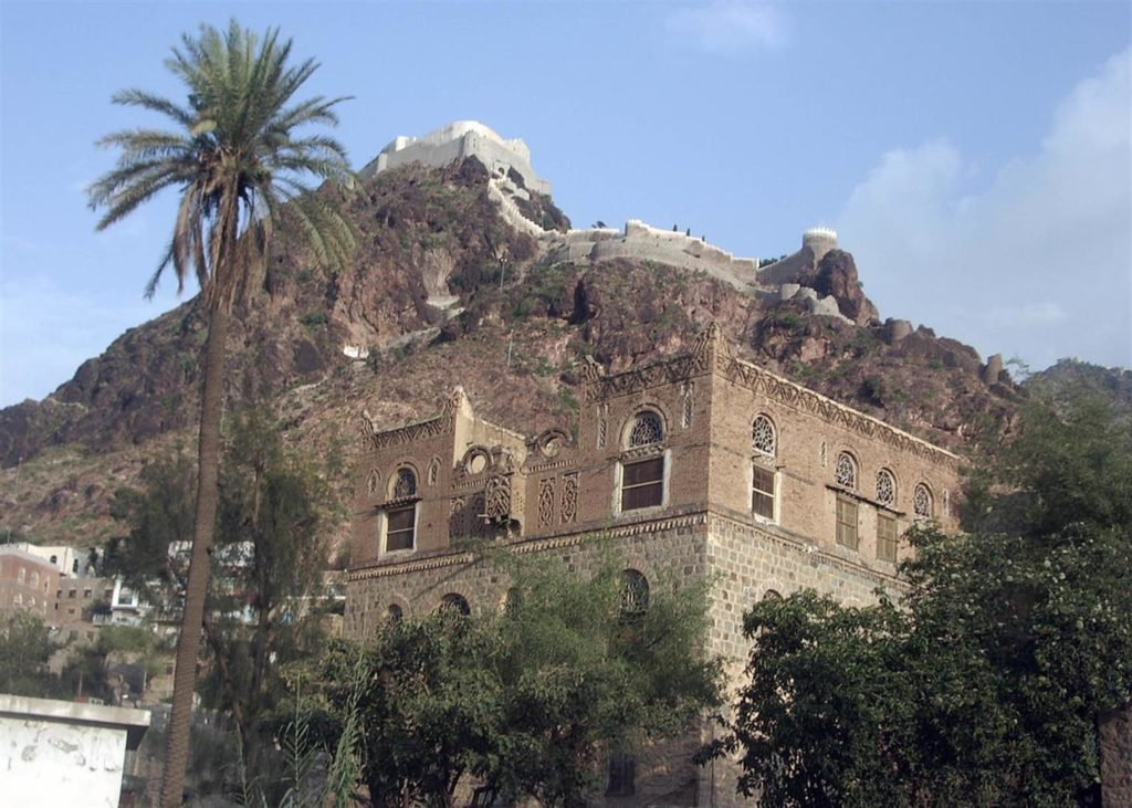 Old city house in Old City of Ta'izz, Yemen