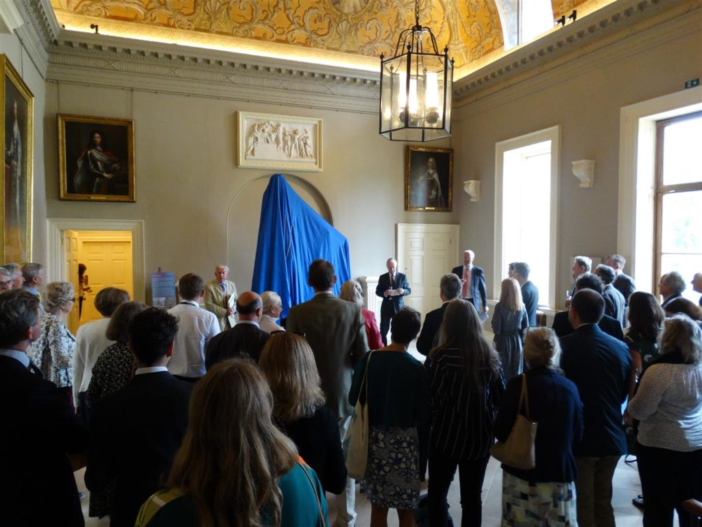 The unveiling of the Laocoon in July 2019