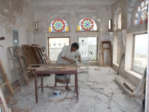 Restoring the Interior of the Immam Palace