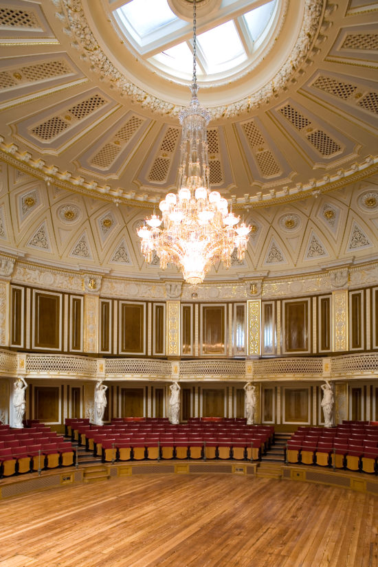 Fully completed historical redecoration to the Small Concert Room