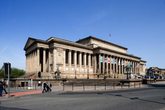 The exterior St.George's Hall