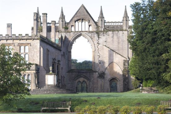 The West Front viewed from behind