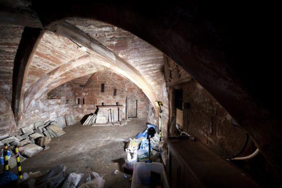 Medieval crypts beneath St Michael's