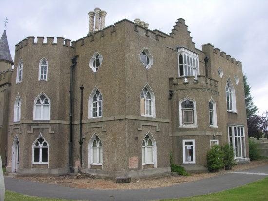 Exterior before restoration