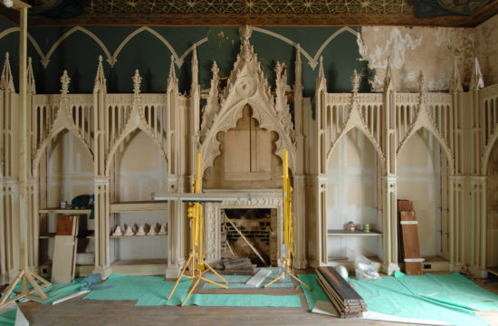 Restoration of the first Gothic Library in England