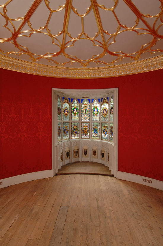 The Round Drawing Room following restoration