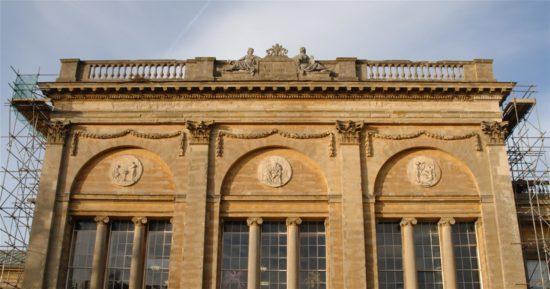 The Western Pavilion prior to restoration