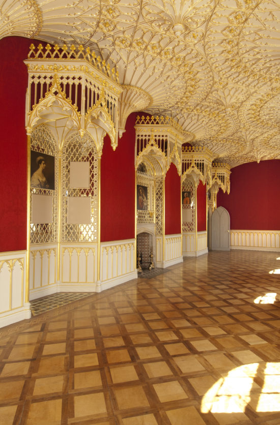 The restored Long Gallery