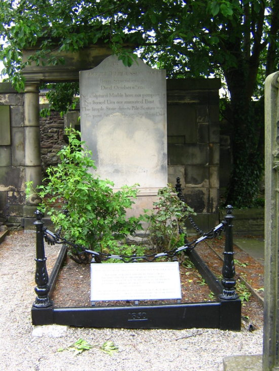 Some of the graves were affected by foilage growth