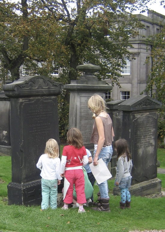 A younger audience completing a trail