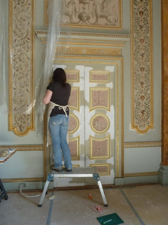 The doors required particular attention following heavy use