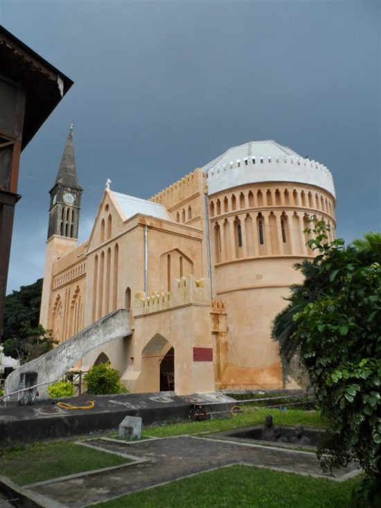 The cathedral in late 2015 with exterior conservation work nearing completion