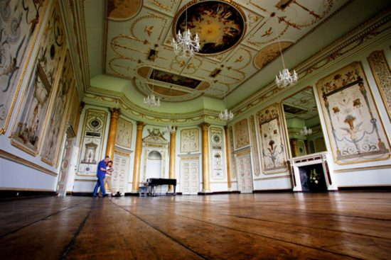 The room, now complete, is used frequently for events, including music recitals