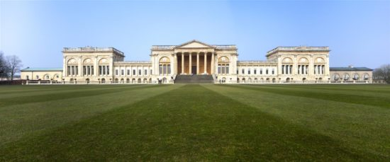 Clear of scaffolding, the South Front has regained its former glory