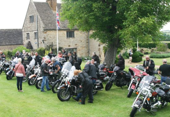 A motorbike display on Watch Day 2014