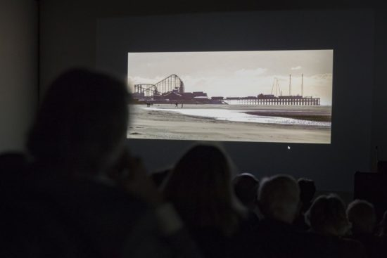 A short film about what the piers mean to the people of Blackpool was shown during the event