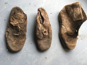 Odd Shoes Found at Strata Florida